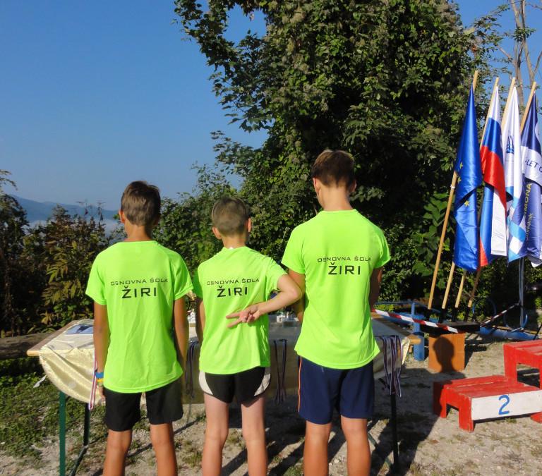 Mladi gorski tekači med najboljšimi v državi