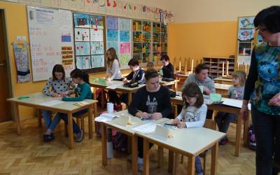 Sedmošolci in drugošolci spoznavali pomen IZOBRAŽEVANJA