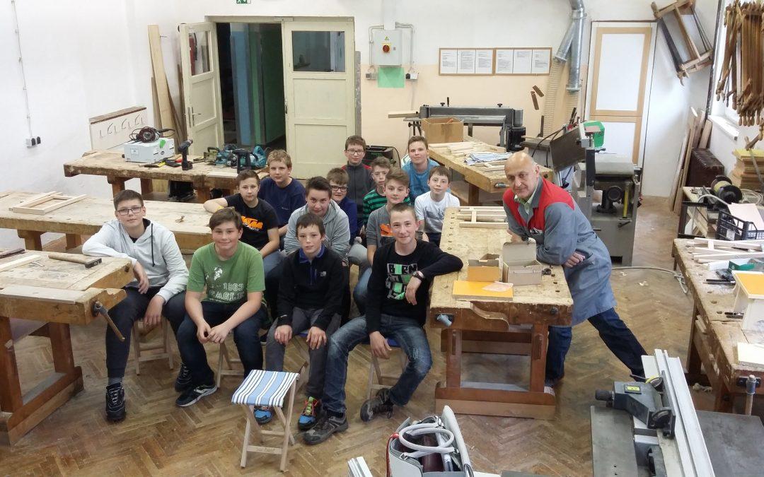 Obisk srednje šole za lesarstvo v Škofji Loki