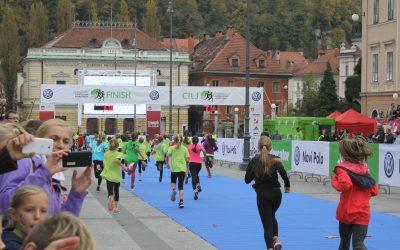 Žirovski osnovnošolci 5. na Ljubljanskem maratonu