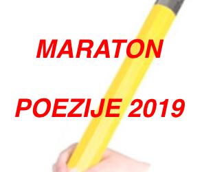 """Maraton poezije 2019 ali """"Išče te sreča, um ti je dan …"""""""