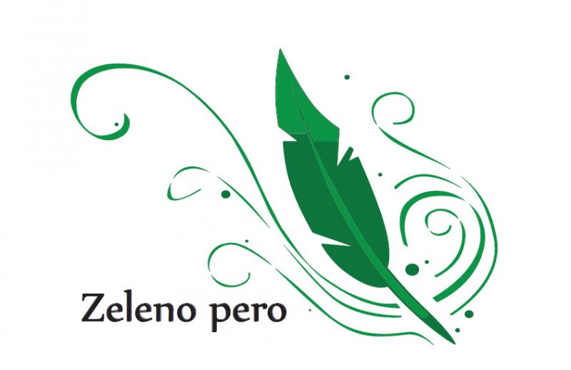 Bronasta in srebrna zelena peresa za leto 2020