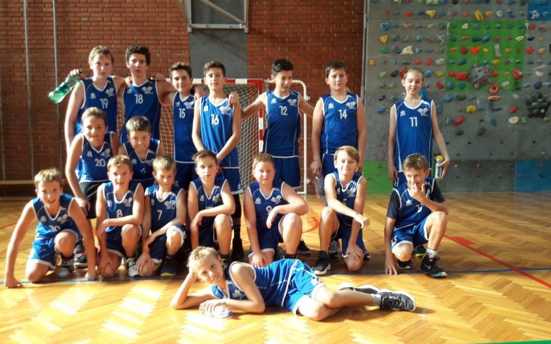 Uspešen nastop mladih košarkarjev