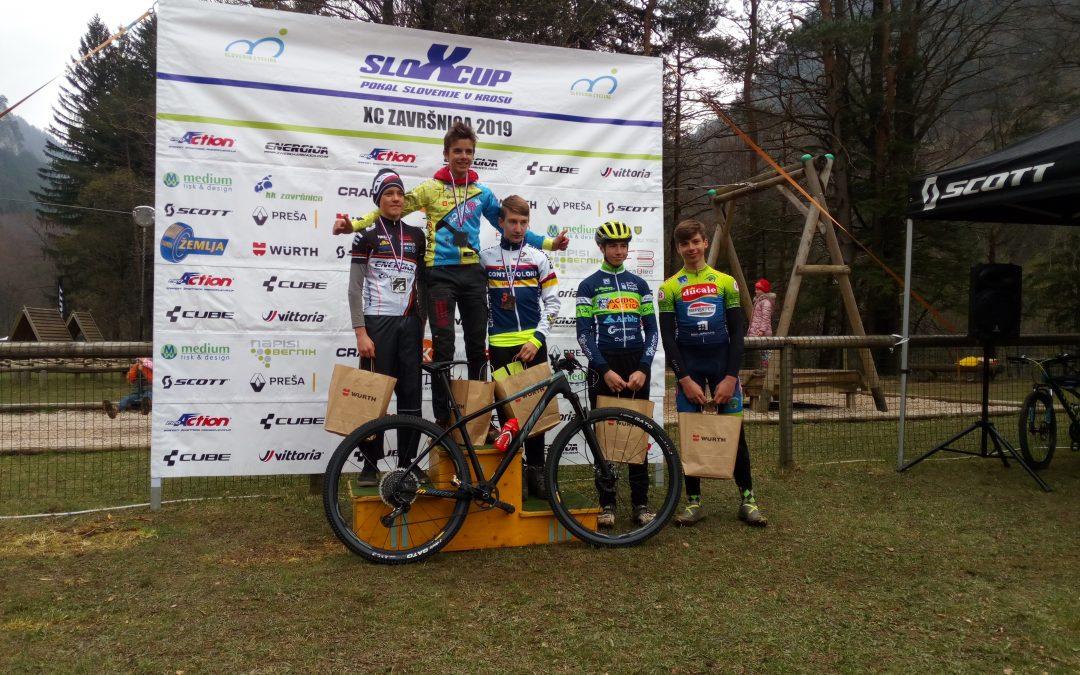 Marcelova zmaga v SloXcupu